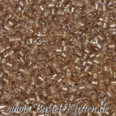 DB-0907 Delicas 11/0 FE sparkle crystal-taupe  ca. 7,5 Gramm