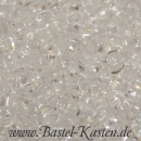 Twin Beads 4 mm x 2,5 mm crystal (10 Gramm)
