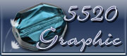 Swarovski Graphic Bead 5520