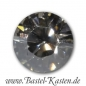 Preview: Swarovski Round Stone 1028 8mm crystal silver shade (1 Stück)