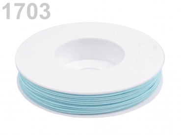 Soutache Band PEGA 500054 100% Viscose 3mm Baby Blue (1 Meter) 1703
