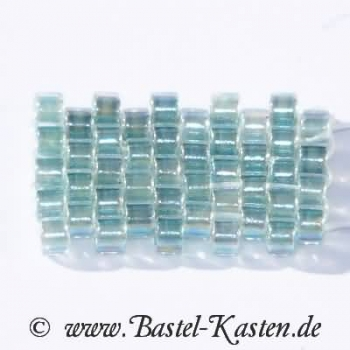 DB-0084 - Delicas  11/0  transparent rainbow Light Seafoam  ca. 7,5 Gramm