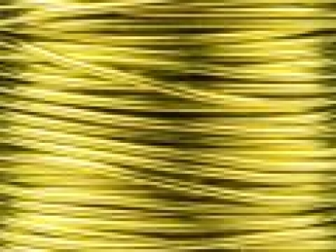Fancy Wire limone 0,5mm dick  ca. 25 Meter auf Spule