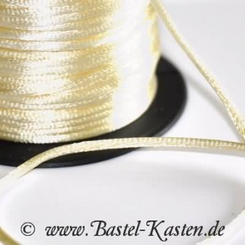 Satinband ca. 2,5mm creme (1 Meter)