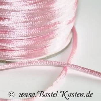 Satinband ca. 2,5mm rosa (1 Meter)