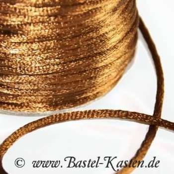 Satinband ca. 2,5mm braun (1 Meter)