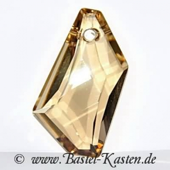 Swarovski 6670  De-Art Pendant ca. 50mm crystal golden shadow<br>1 Stück