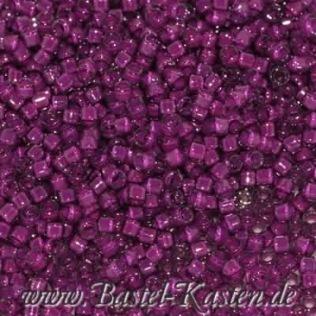 DB-0281 Delicas 11/0 FE crystal-medium plum   ca. 7,5 Gramm