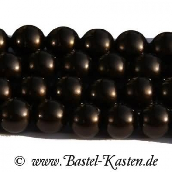 Crystal-Pearl 5810 8 mm deep brown (10 Stück)