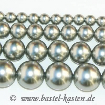 Crystal-Pearl 5810 8 mm  light grey (10 Stück)