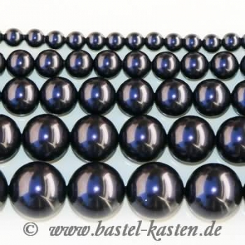 Crystal-Pearl 5810 12 mm  dark purple (5 Stück)