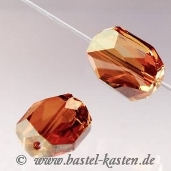 Swarovski Graphic-Bead 5520 12mm crystal copper (1 Stück)