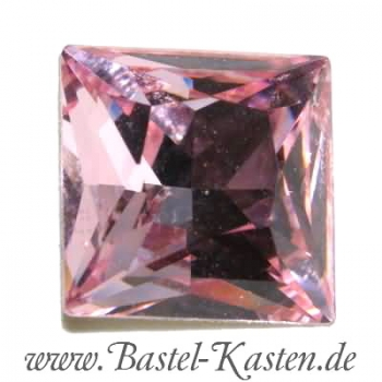 Swarovski Princess Square  4447 light rose 10mm (1 Stück)