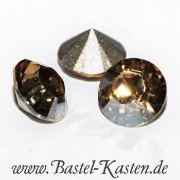 Swarovski Round Stone 1028 8mm crystal golden shadow (1 Stück)