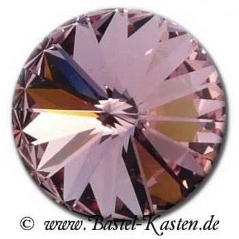 Swarovski 1122 Rivoli 12mm light rose (1 Stück)