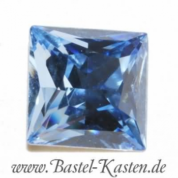 Swarovski Princess Square  4447 light sapphire 10mm (1 Stück)