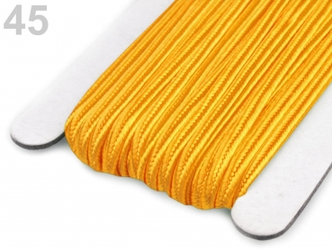Soutache Band 510248 100% Viscose 3mm Amber (1 Meter) 45