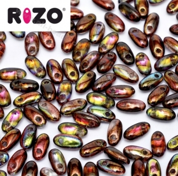 Rizo Beads 2,5 x 6 mm magic wine (10 Gramm)