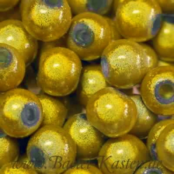 Miracle Beads gelb 4 mm  (50 Stück)