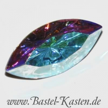 Swarovski Fancy Stone 4200/2 table cut crystal ab 15 x 7mm (1 Stück)
