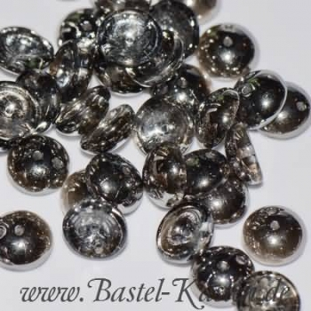 Piggy Bead ®  4 x 8mm crystal chrome (25 Stück)