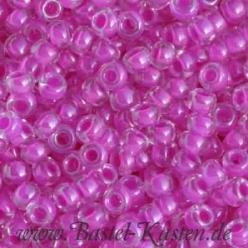 MR11-0209  Miyuki Rocailles  11/0 color lined fuchsia (10 Gramm)