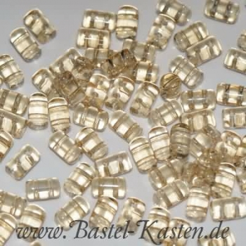 Rulla 3 x 5 mm crystal champagne luster (10 Gramm)