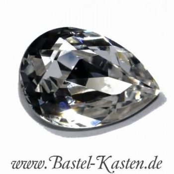 Swarovski Pearshape 4320 - 14x10 mm crystal